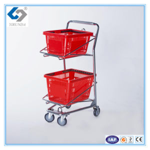 Small Size Basket Trolley Cart for Sale pictures & photos