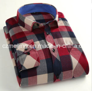 Cotton Men′s Shirt