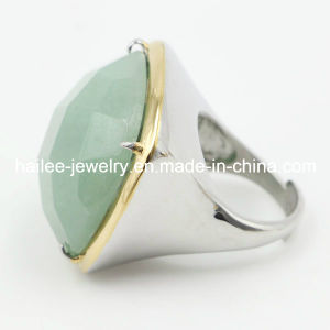 Wholesale Stainless Steel Ring with Big Stone pictures & photos