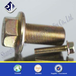 Auto Part Fastener Hex Flange Bolt pictures & photos