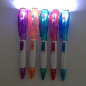 Promotion LED Light Ballpen (L006) pictures & photos