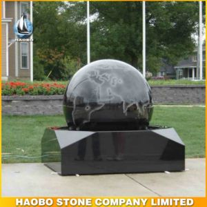 Natural Black Granite Water Fountain pictures & photos