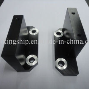 Precision Machining of P6061-T6 Part Black Anodizing pictures & photos