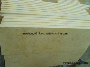 Sunny Yellow Marble Tiles Flooring Tiles pictures & photos