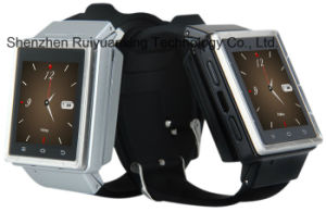 S6 Smart Watch, Support 3G, GPS, Bluetooth, Microphone, Speaker, TF Card Slot, Micro USB Slot, FM, , WiFi pictures & photos
