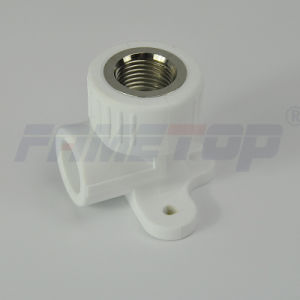 Wall Plated Female Elbow PPR Fitting for Hot Water pictures & photos