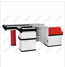 110 V 120W Checkout Counter with Motor Transfer Belt pictures & photos