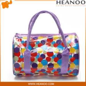 Trend Translucent PVC Transparent Plastic Clutch Purse Bag Beauty Handbag pictures & photos