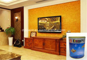 Metallic Textured Wall Paint for Decoration