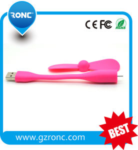 2016 Top Selling USB Mini Fan for Powerbank PC Compute pictures & photos