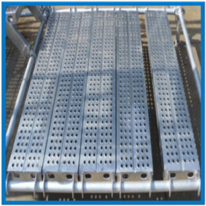 High Quality Aluminum Scaffolding Decking with Hang Hook Made in China pictures & photos