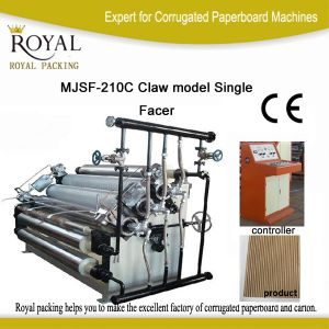 Corrugated Box Machine for 2-Layer Board (MJSF-210C) pictures & photos
