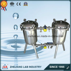 Industrial Customized Sanitary Double-Barrel Filter for Liquids pictures & photos