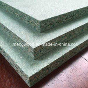 Green Waterproof Particle Board/ Moisture Resistant Chipboard pictures & photos