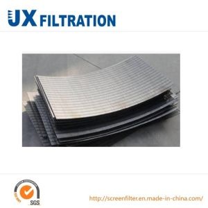 High Quality Stainless Steel Curved Wedge Wire Screen pictures & photos