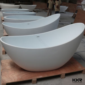 Kkr Antique Solid Surface White Freestanding Bath Tubs (TUB1705302) pictures & photos