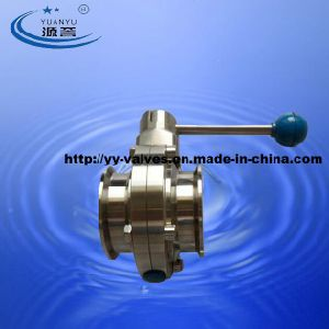 Food-Grade Butterfly Valve Stainless Steel pictures & photos