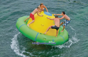Tarpaulin Inflatable Water Game for Four Person Play (TK-047) pictures & photos