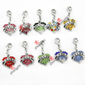 2015 New 3D Rhinestone Heart Charms for Fashion Jewellry (MPE) pictures & photos