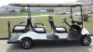 4 Wheel 6 Seat Electric Golf Buggies Cheap Personal Transporter