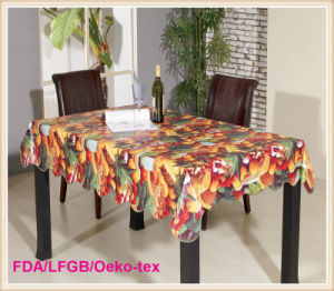 Vinyl Table Cloth Party/Home Decoration New Design pictures & photos