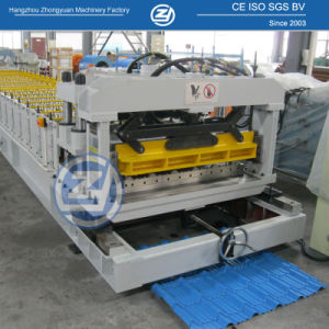 Long-Span Step Tile Roll Forming Machine pictures & photos