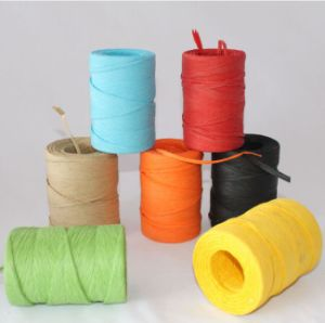 Wholesale Colorful Paper Raffia Ribbon Roll pictures & photos