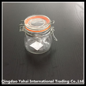 140ml Rould Glass Storage Jar with Clip Lid pictures & photos