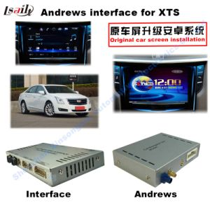 GPS Navigation System Video Interface for Cadillac Srx, Xts, ATS (CUE SYSTEM) Upgrade Touch Navigation, Cast Screen, Mirrorlink, Google Map, Play Store pictures & photos
