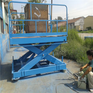 Hot Sale! Sjgtype Stationary Scissor Lift Platform pictures & photos