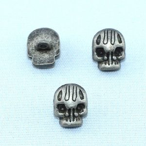 Small Skull Button Alloy Metal Shank Button for Decoration pictures & photos