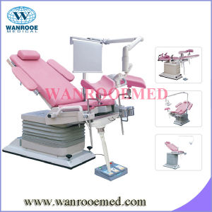 Hospital Electric Hydraulic Gynecology Chair pictures & photos