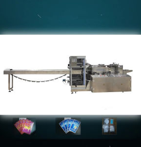 Horizontal Four Side Sealing Machine for Pain Relief Patches pictures & photos