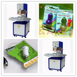 Three Position Disc Suction Plastic Packing Machine for Car Charger Plastic Packaging, Ce Approved pictures & photos