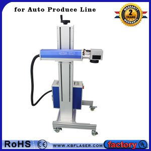 Fly Laser Marking Machine for Iron pictures & photos
