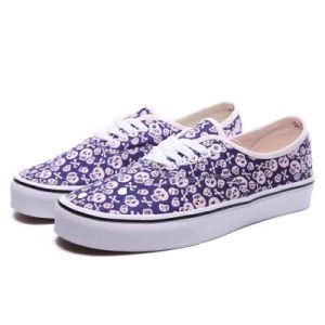 New Design Printed Blue Monkey on Navy//White Canvas Leisure Shoes pictures & photos