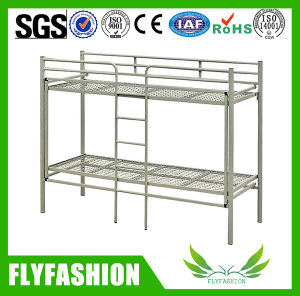 Folding Metal Double Bunk Bed for Student (BD-37) pictures & photos