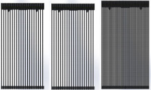 Vertical Pixel Pitch 8mm Wind-Proof SMD LED Curtain / LED Mesh pictures & photos