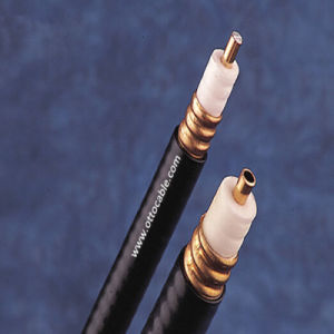 "1/2"" Corrugated RF Leaky Feeder Coaxial Cable pictures & photos"