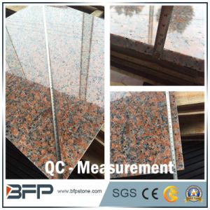 Natural Red Granite Floor Tile with Polished/Flamed Surface for Floor Wall Step Window Sill pictures & photos