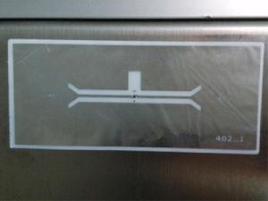 0.5mm Thickness RFID on Metal Tag