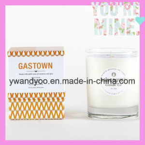 Decorative Scented Soy Candle in Glass