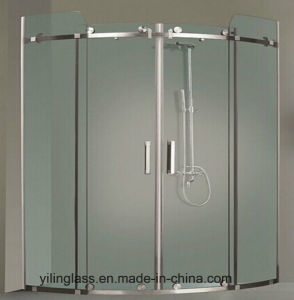High Quality Toughened Frosted Bathroom Glass pictures & photos