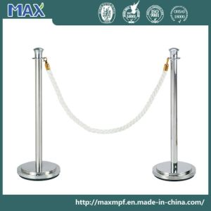 Stainless Steel Bank Rope Tulip Top Crowd Control Barrier pictures & photos