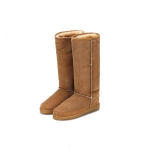 Cow Suede Upper Women Shoes Boots pictures & photos