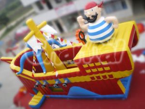 2016 PVC Carribean Pirate Inflatable Slide (chsl116) pictures & photos