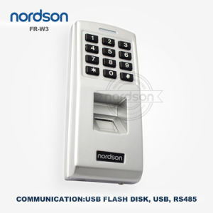 3000 Finger Templates Waterproof Standalone Access Control Keypad (W3-B) pictures & photos