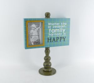 Colorful Decorative Wooden Desk Photo Frame for Home pictures & photos