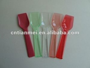 Plastic Spoon for Ice Cream pictures & photos