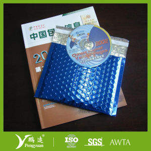 Multicolor Metallic Bubble Envelope for Protective Shipping of Gifts pictures & photos